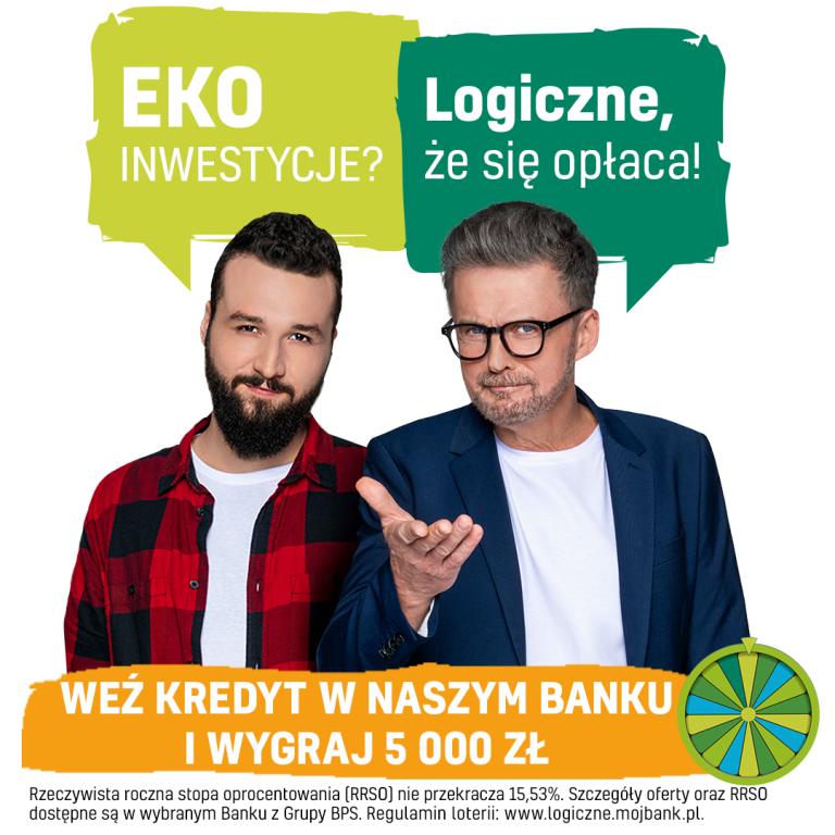 Kredyt EKOlogiczny z loterią wygraj 5000 zł!